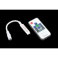Mini Контроллер RGB радио с пультом, 5-24 Вольта, 6А, RF-RGB-10-6A