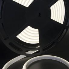 Светодиодная лента термостойкая нейтрального белого свечения 2835, IP68, 12 Вт/м, 24V