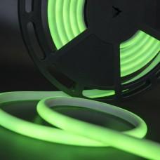 Светодиодная лента термостойкая зеленого свечения 2835, IP68, 12 Вт/м, 24V