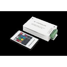 LED RGB контроллер 18А 12-24 Вольт,РФ, 20 кн, RF-RGB-20-18A