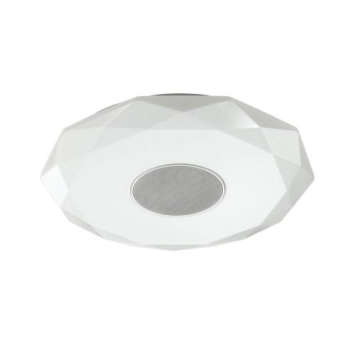 4628/DL SN 030 св-к ROLA muzcolor пластик LED 50Вт 3000-6500К D510 IP20 пульт ДУ/динамик