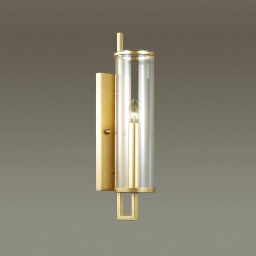 4655/1W ODL20 569 золотой/прозрачный Бра E27 60W 220V RENA