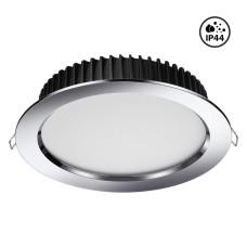 358305 NT19 000 хром Встраиваемый св-к (драйвер в комплект не входит) IP44 LED3000K 20W 85-265V DRUM