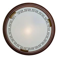 260 SN 106 св-к GRECA WOOD стекло E27 2*100Вт D460