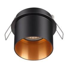 370431 NT19 130 черный Встраиваемый светильник IP20 GU10 50W 220V BUTT