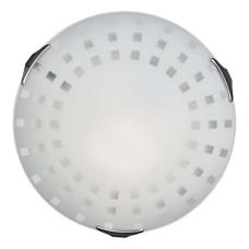 162/K SN 103 св-к QUADRO WHITE стекло E27 2*60Вт D300