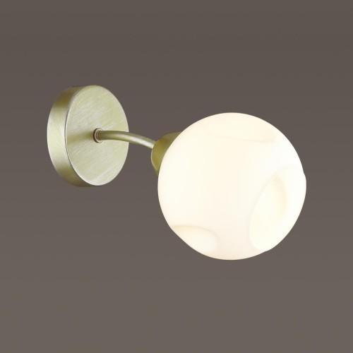 4519/1W COMFI LN20 матовое золото, белый Бра E27 40W 220V PAIGE