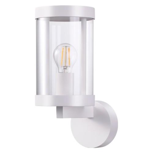 370603 NT19 147 белый Ландшафтный настенный светильник IP44 Е27 13W 220-240V IVORY