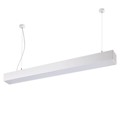 358055 NT19 053 белый Подвесной светильник IP20 LED 4000К вверх 20W + вниз 30W 220V ITER