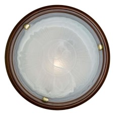 136/K SN 108 св-к LUFE WOOD стекло E27 2*60Вт D360