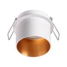370432 NT19 130 белый Встраиваемый светильник IP20 GU10 50W 220V BUTT