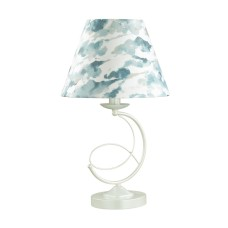 4541/1T NEOCLASSI (В 2-Х КОРОБКАХ) LN21 123 белый Настольная лампа E14 40W 220V FLEUR