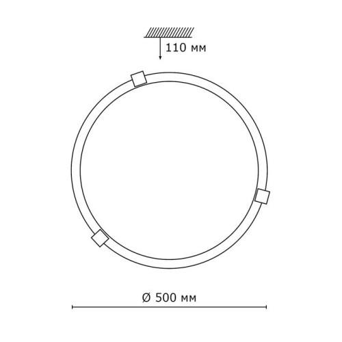 353 хром SN 112 св-к DUNA стекло E27 3*100Вт D500