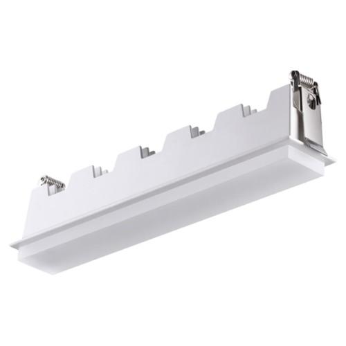 358241 NT19 083 белый Встраиваемый светильник IP20 LED 20W 85-265V HIELO