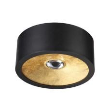 3875/1CL ODL19 221 черный с золотом Потолочной накладной светильник GU10 1*50W 220V GLASGOW