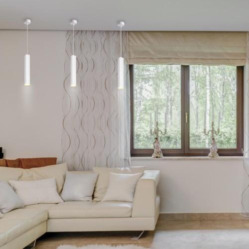 358127 NT19 069 белый Накладной светильник, длина провода 1м IP20 LED 3000K 12W 160 - 265V MODO