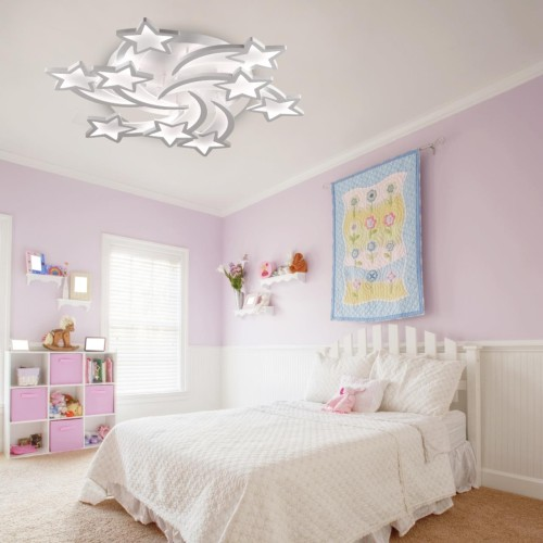 4526/99CL LN20 белый Люстра потолочная LED 198W 220V SELINA