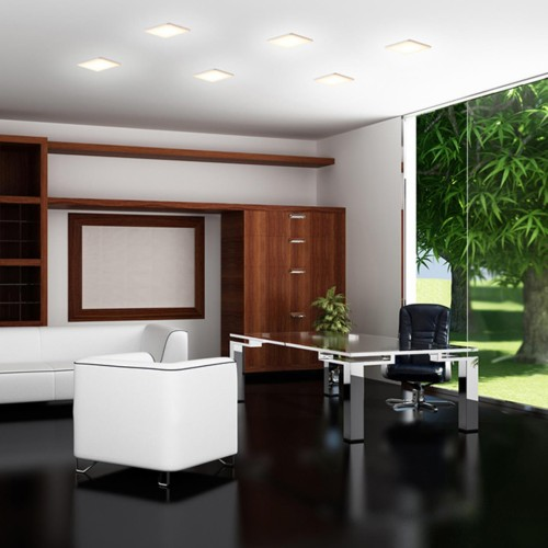 358148 NT19 078 белый Встраиваемый светильник IP20 LED 4000K 12W 85 - 265V MOON