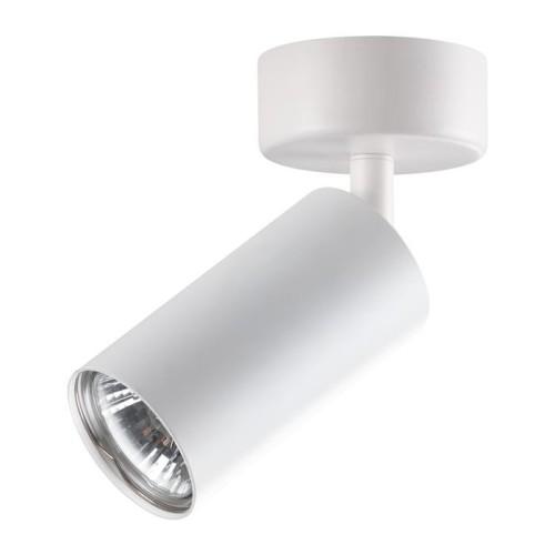 370394 NT18 101 белый Накладной светильник IP20 GU10 50W 220V PIPE