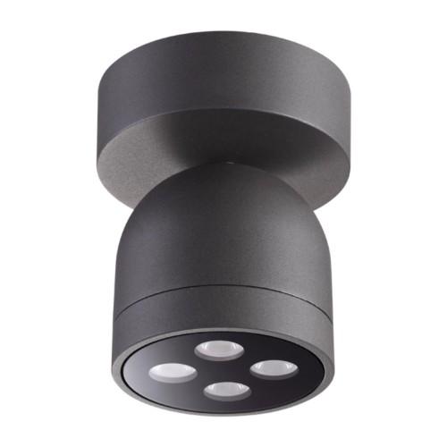 358118 NT19 149 темно-серый Ландшафтный светильник IP65 LED 3000К 10W 100-240V GALEATI
