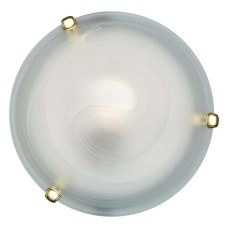 153/K золото SN 111 св-к DUNA стекло E27 2*60Вт D300