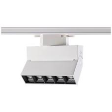 357843 NT18 058 белый/черный Трековый светильник IP33 LED 3000К 13W 110-265V EOS