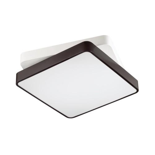 4511/72CL LN20 белый, черный Люстра потолочная с пультом LED 72W 3000-6000K 6120Лм 220V AGATHA