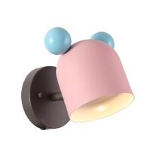 4731/1W ODL20 613 розовый/голубой Бра GU10 5W Mickey