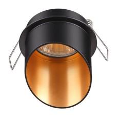 370435 NT19 130 черный Встраиваемый светильник IP20 GU10 50W 220V BUTT