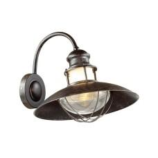 4164/1W ODL19 695 коричневый/прозрачный Уличный настенный светильник IP44 E27 1*60W DANTE
