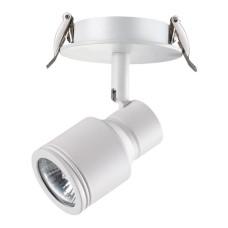 370395 NT18 101 белый Встраиваемый светильник IP20 GU10 50W 220V PIPE