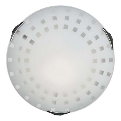262 SN 103 св-к QUADRO WHITE стекло E27 2*100Вт D400
