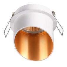 370436 NT19 130 белый Встраиваемый светильник IP20 GU10 50W 220V BUTT