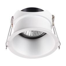 370446 NT19 130 белый Встраиваемый светильник IP20 GU10 50W 220V BUTT