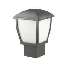 4051/1B ODL18 707 темно-серый/матовый белый Уличный светильник на столб IP44 E27 100W 220V TAKO