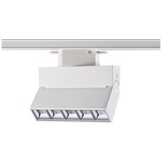 357844 NT18 058 белый/хром Трековый светильник IP33 LED 3000К 13W 110-265V EOS
