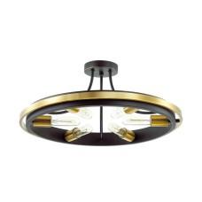 4401/6C LN19 148 золотой, черный Люстра потолочная E27 6*60W 220V MAEVE