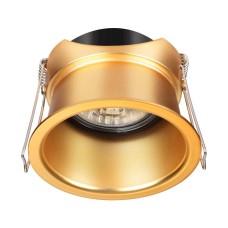 370447 NT19 130 золото Встраиваемый светильник IP20 GU10 50W 220V BUTT