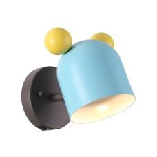 4732/1W ODL20 613 голубой/желтый Бра GU10 5W Mickey