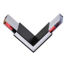135077 NT19 050 черный Соединитель угловой токопроводящий IP20 LED 4000K 3W 220-240V ITER