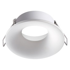 370640 NT19 086 белый Встраиваемый светильник IP20 GU10 50W 220V METIS