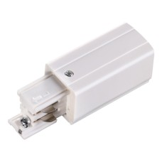 135046 NT19 012 белый Соединитель-токопровод-левый для трехфазного шинопровода IP20 220V