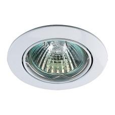 369100 NT09 135 белый свет Встраиваемый светильник IP20 GX5.3 50W 12V CROWN