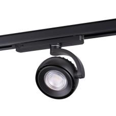 358166 NT19 020 черный Трехфазный трековый светодиодный светильник IP20 LED 4000K 20W 100-240V CURL