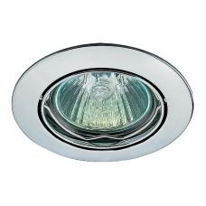 369101 NT09 135 хром Встраиваемый светильник IP20 GX5.3 50W 12V CROWN