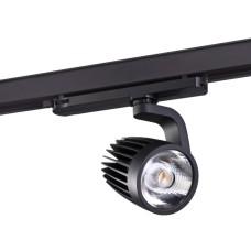 358177 NT19 019 черный Трехфазный трековый светодиодный светильник IP20 LED 4000K 25W 100-240V HELIX