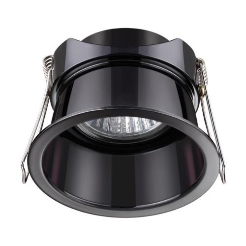 370449 NT19 130 жемчужный черный Встраиваемый светильник IP20 GU10 50W 220V BUTT
