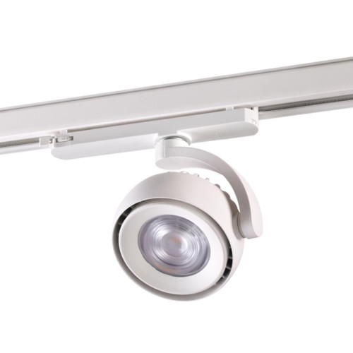 358167 NT19 020 белый Трехфазный трековый светодиодный светильник IP20 LED 4000K 20W 100-240V CURL