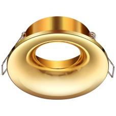 370641 NT19 086 золото Встраиваемый светильник IP20 GU10 50W 220V METIS