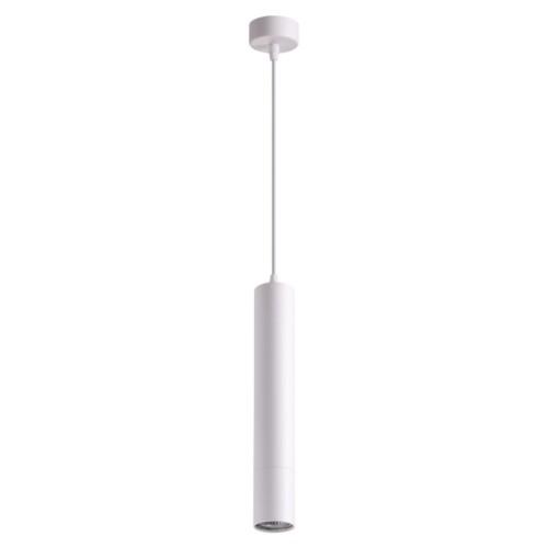 370621 NT19 102 белый Накладной светильник, длина провода 1м IP20 GU10 50W 220V PIPE